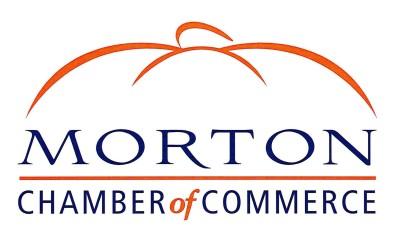 Morton Chamber of Commerce pumpkin logo